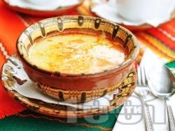 Вкусна агнешка шкембе чорба (супа) с прясно мляко - снимка на рецептата